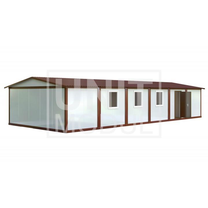 (МС-04) Модульное здание из шести блок-контейнеров (сэндвич-панели)