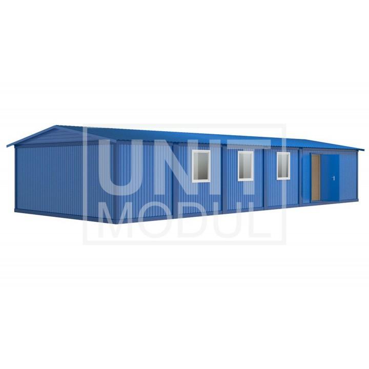 (МЗ-04) Модульное здание из шести блок-контейнеров одноэтажное