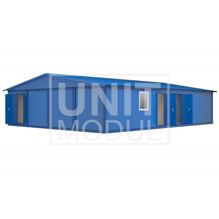 (МЗ-06) Модульное здание из восьми блок-контейнеров недорого