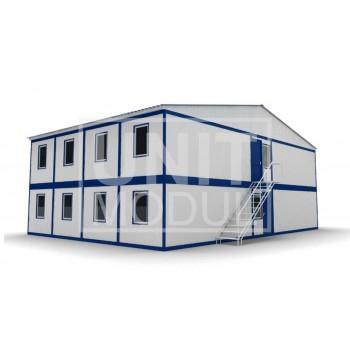 (МЗ-09) Модульное здание из 20ти блок-контейнеров