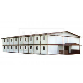 (МС-08) Модульное общежитие (сэндвич-панели)