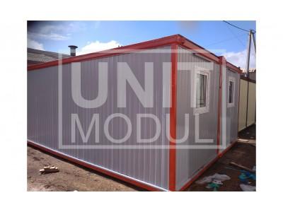 Нижегородская обл., модульное здание из двух бытовок металлических (блок-контейнеров) под склад