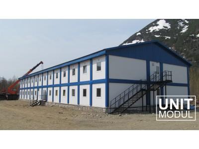 Модульные дома для круглогодичного проживания.