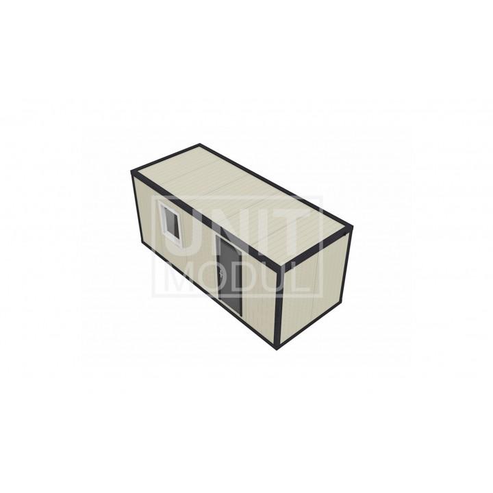 Бытовка металлическая (блок-контейнер) из сэндвич-панелей стандарт